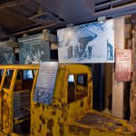 Climb on board the skier subway and learn about its history.