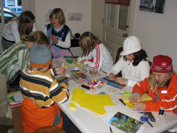 Learn how to make a book at the Park City Museum.