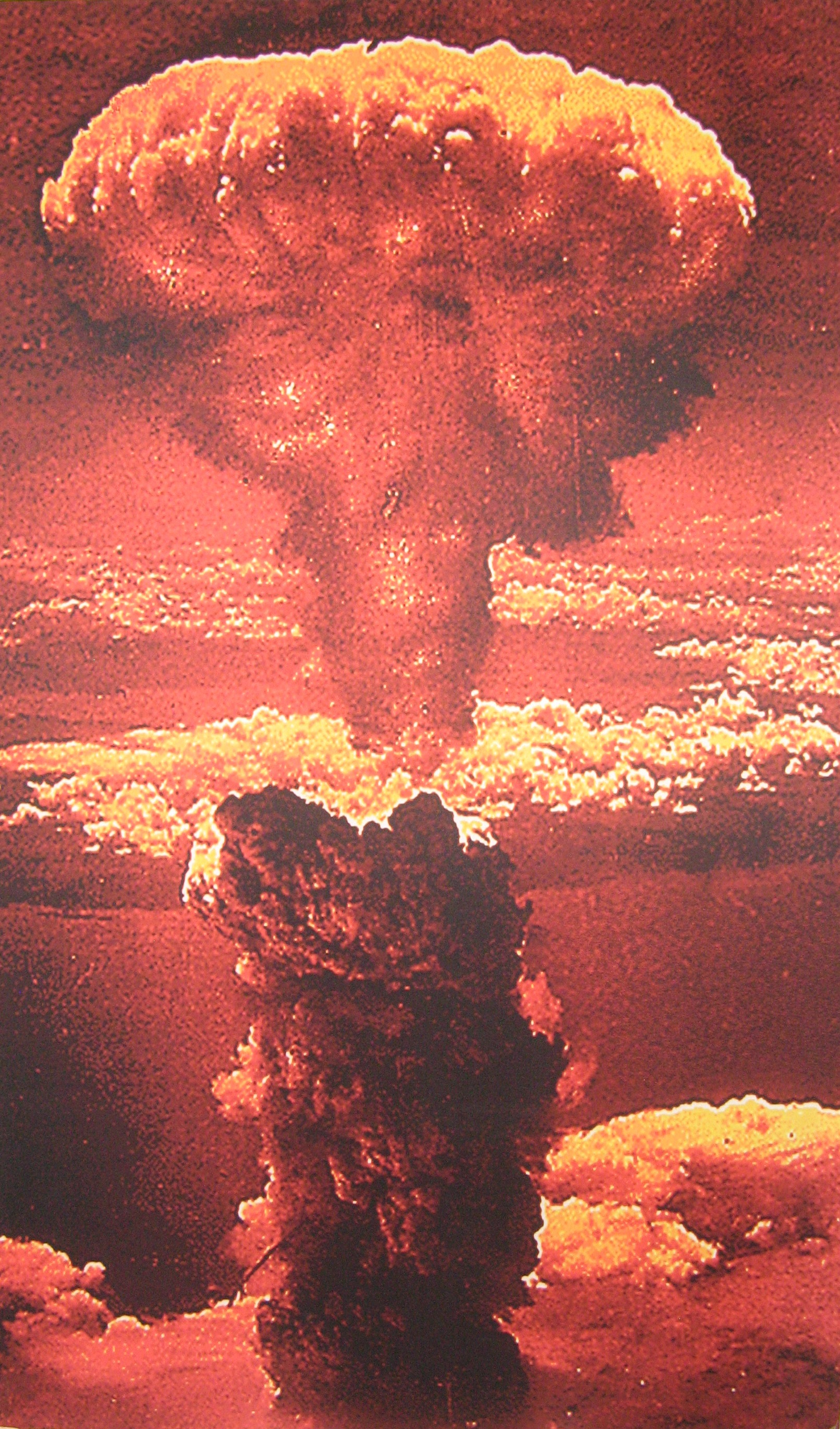 an analysis of the explosion of the atomic bomb in hiroshima by united states The united states detonated two atomic bombs over the japanese cities of  hiroshima and  the intense brightness of the explosion's flash was followed by  the rise of a large  was the bombing of hiroshima and nagasaki necessary.