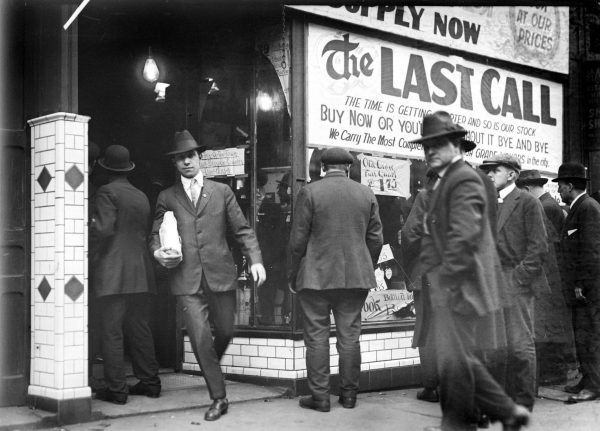 Prohibition, Detroit, 1920