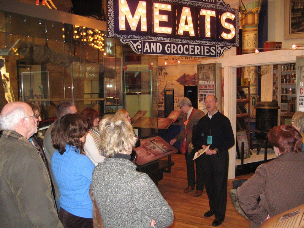 Docent led Museum tours explore Park City history.