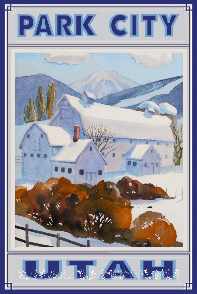 Barn-Postcard