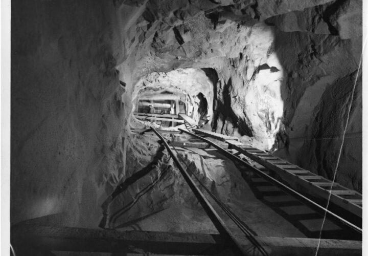 Inside a Mining tunnel