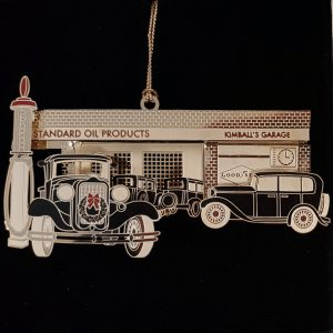 2012 Holiday Ornament - Kimball Garage - Park City Museum